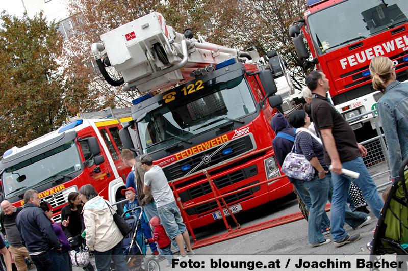 Tag der offenen Tür Berufsfeuerwehr Graz