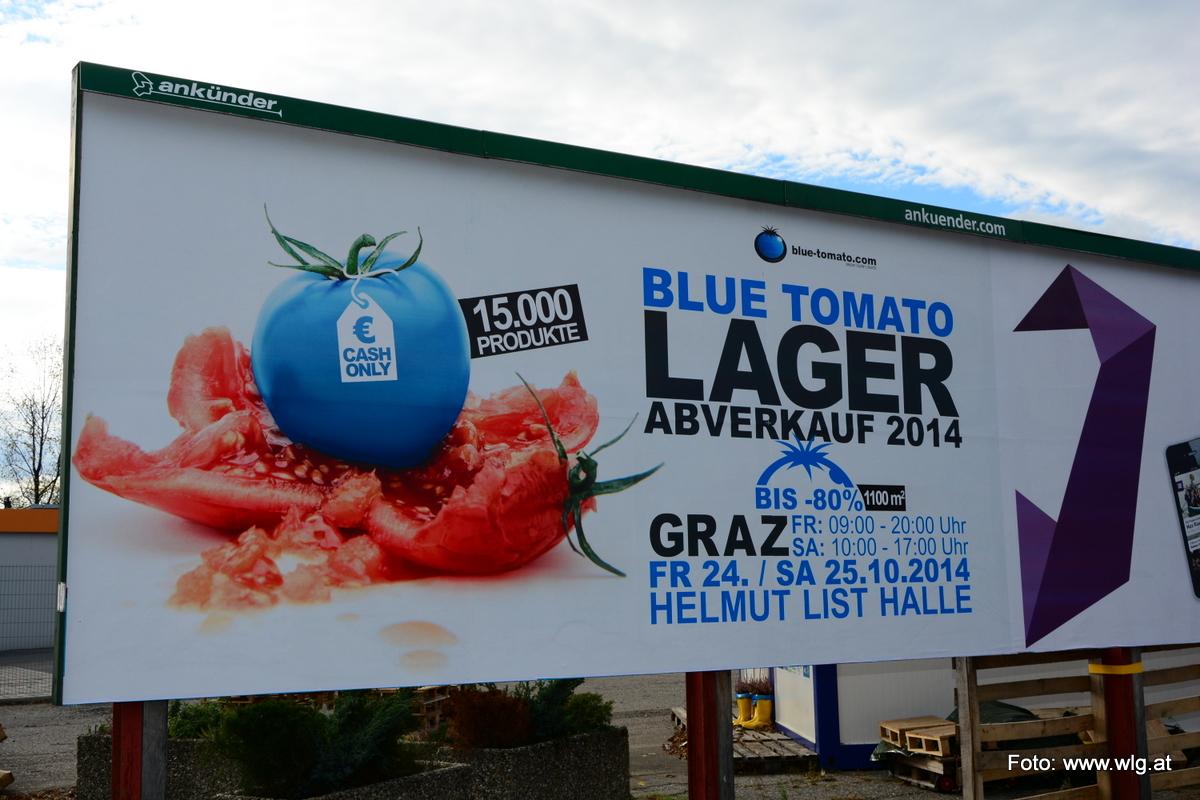 Blue Tomato Lagerabverkauf 2014