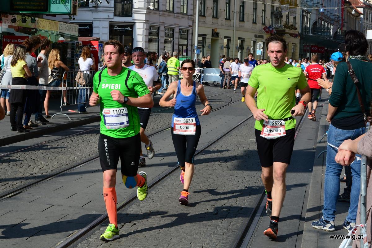 Fotos vom Graz Marathon 2014