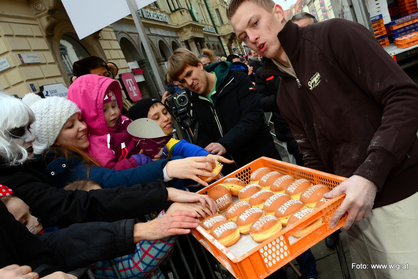 Faschingsumzug Graz Fotos Teil 1