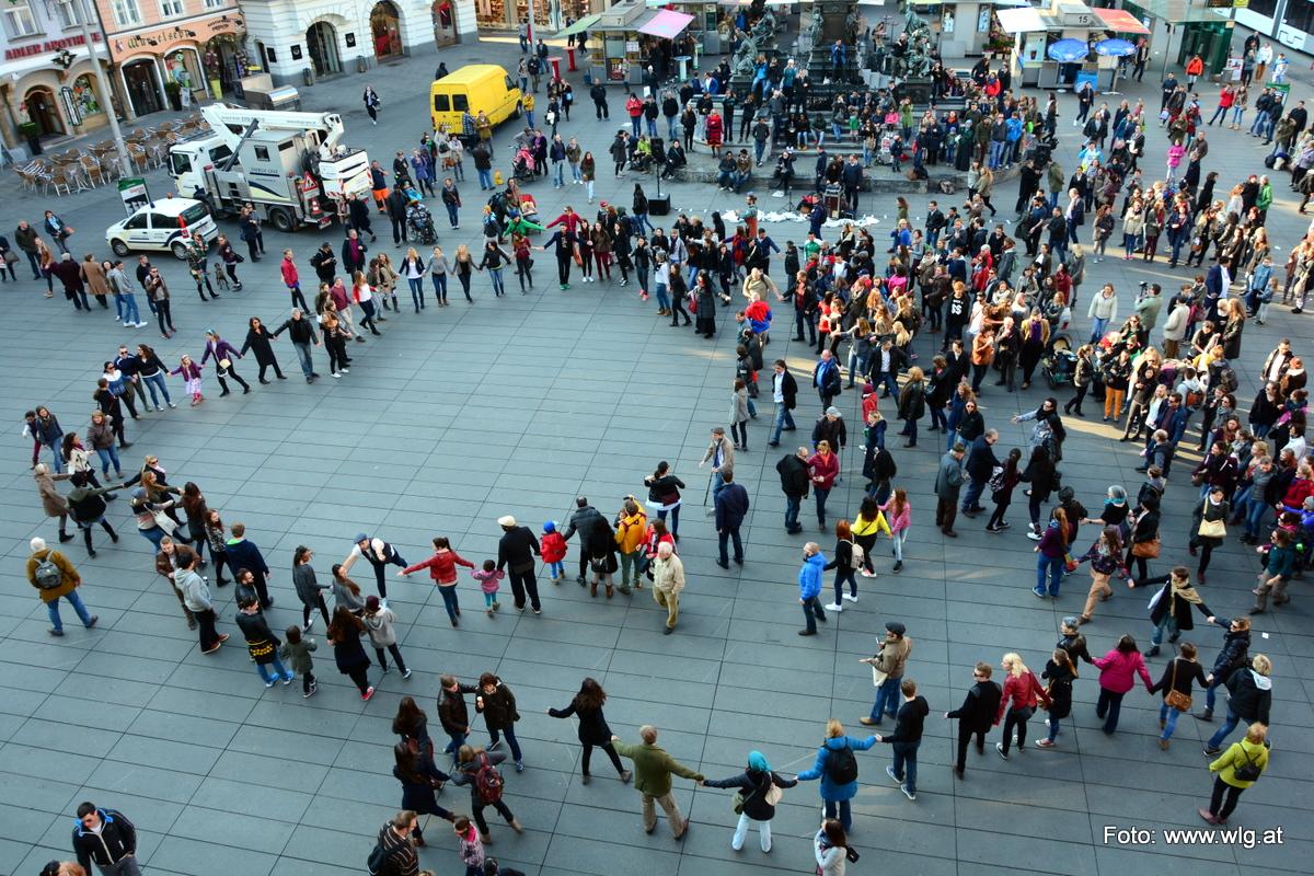 Flashmob Graz – 20. März 2015