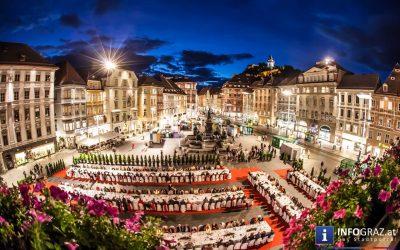 Lange Tafel der Genusshauptstadt Graz 2016