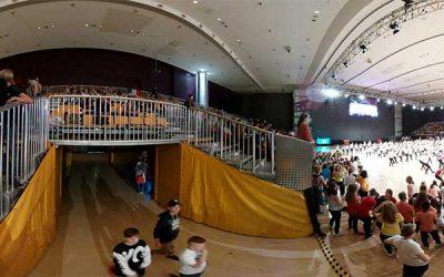 360 Grad Foto vom der Streetdance WM in Graz