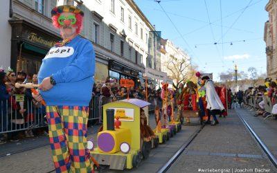 Faschingsumzug Graz 2019