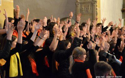 Fotos der ersten Lange Nacht der Chöre in Graz