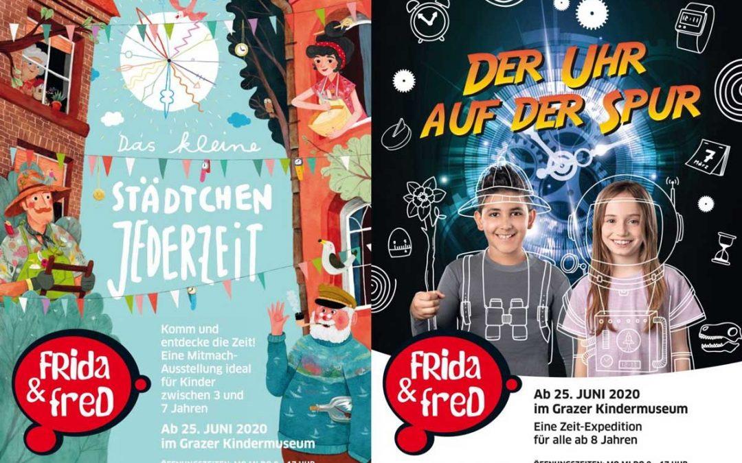 Zwei neue Ausstellungen im Grazer Kindermuseum 2020