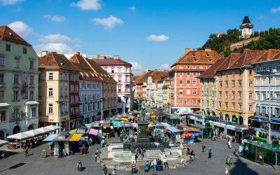 Fotos vom Grazer Hauptplatz